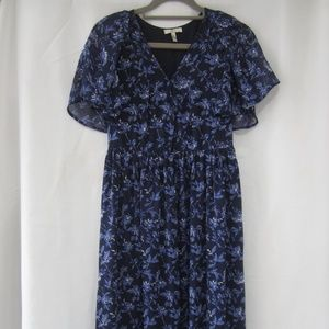 "Joie XS Silk Floral Maxi Dress Spring 32"" Bust"